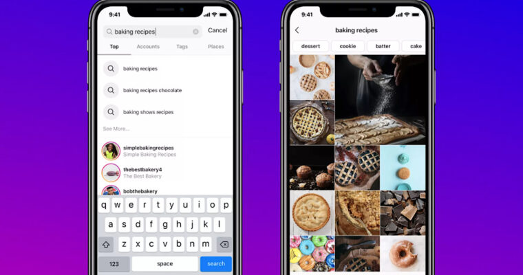 Instagram is Making it Possible to Search by Keyword