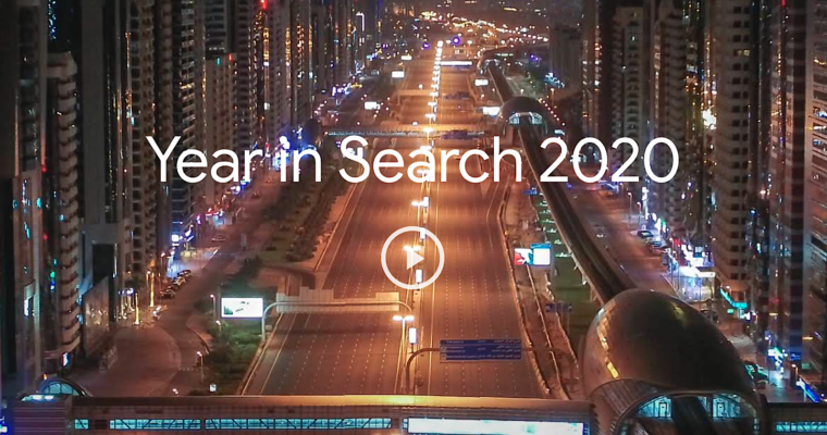 Google Reveals Top Searches of 2020